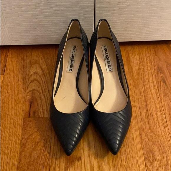 Karl Lagerfeld Shoes | Rosette Navy